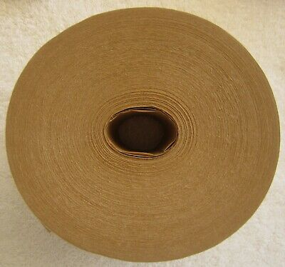 "Reinforced, water activitated Kraft tape, heavy duty, 3"" x 450',brown, case/10"