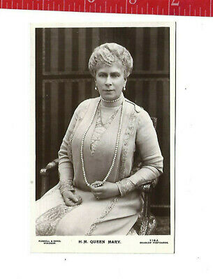 vintage post card Her Majesty Queen Mary