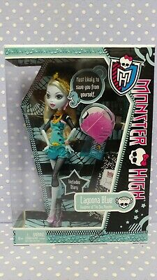 2011 Mattel Monster High - Lagoona Blue - Ghoul's Out - w/Diary - NIB NRFB W2822