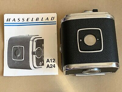 Hasselblad A12 Roll Film Magazine Serial Number RU3319798