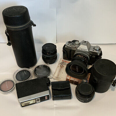 Vintage Camera Accessories Lens Lot
