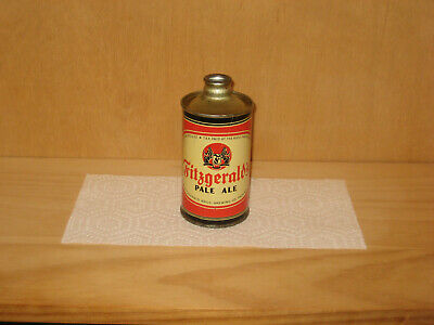 Fitzgerald's Pale Ale J-Spout cone top beer can IRTP flat Troy NY Stark can A1+
