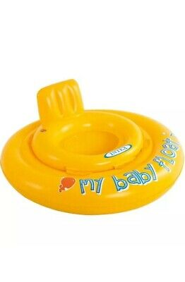 Intex My Baby Float Inflatable Swimming Ring With Seat 6-12 Months