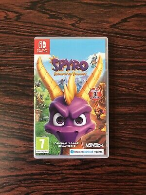 Spyro Reignited Trilogy Nintendo Switch (very good condition)