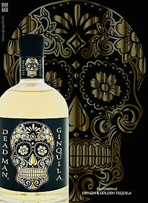 GINQUILA DEAD MAN a Fusion of Gin & golden Tequila 40% Vol. 500ml