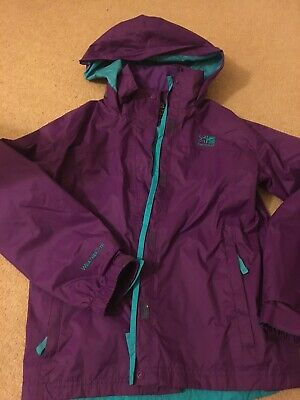 Age 11 To 12 Karrimor Purple Waterproof Jacket