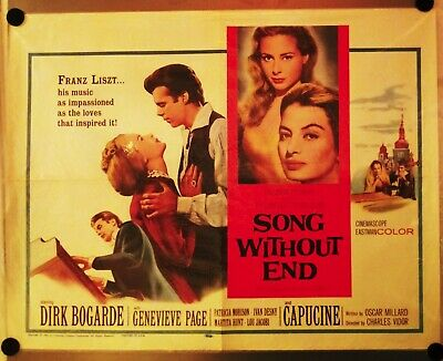 Song Without End  Movie Poster - Original