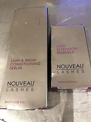 Nouveau Lash And Brow Serum And Lash Extension Remover