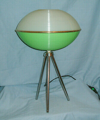 Space Age / Atomic / Spaceship - Tripod Table Lamp