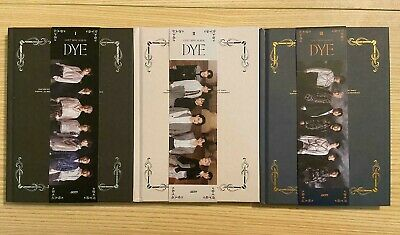 GOT7 - DYE - Official Album  [No PC / Bookmark / Mirror Card](AS IS - see image)