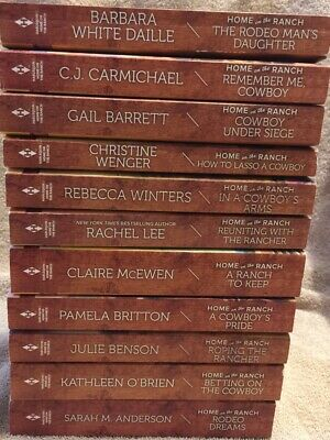 Harlequin Home On The Ranch Series - Lot Of 11 Paperback Romance Books Novels