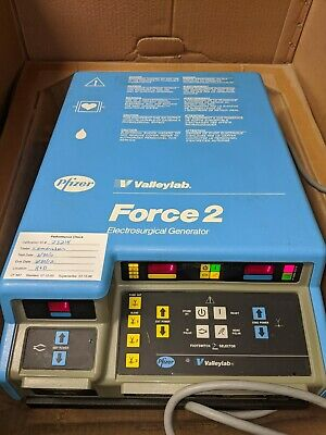 Valleylab FORCE 2 Electrosurgical Generator w/Footswitch E6008