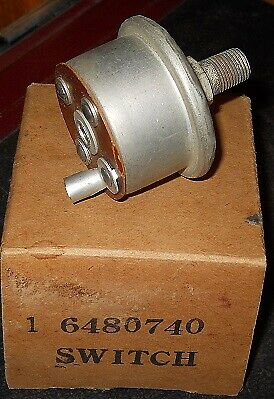 NOS 1956 Packard Push Button Transmission Pressure Switch