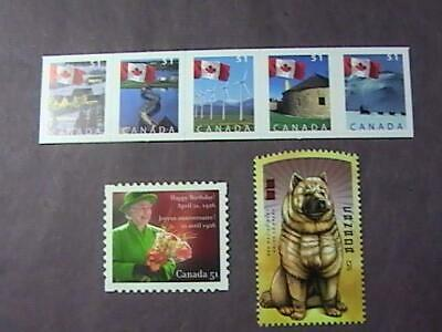 Canada # 2135-2140 & 2142--Mint Never/Hinged--7 Stamp Run--2006