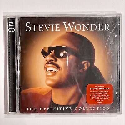 Definitive Collection [2CD] by Stevie Wonder (CD, Nov-2005, 2 Discs, Universal)