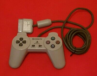 PS1 SCPH-1080 Sony Playstation official controller tested free p+p