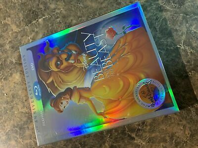 Beauty And The Beast - Blu Ray / Dvd - Brand New Sealed