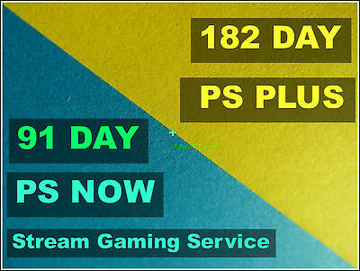 6 Month PS PLUS + 3 Month PS NOW | 13 14-Day PLUS + 7-Day Now Membership No Code
