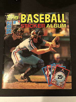 1982 Topps Baseball Sticker Album Almost Completed!