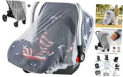 Mosquito Net for Stroller and Car Seat, Universal Size, Long Lasting Infant