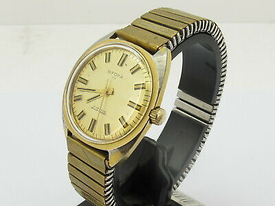 Vintage Bifora 115 17 Jewels Gent's Man's Manual Wind Watch