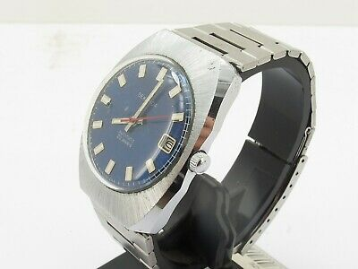 Vintage Sekonda 23 Jewels Blue Dial Gents Mans Automatic Date Watch
