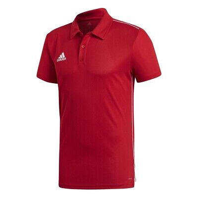 Adidas Core 18 Climalite S/s Rot T37108/ Polo shirts Mann Rot , Polo shirts