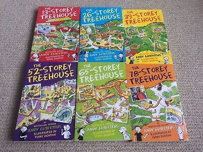 13-Storey Treehouse Collection by Andy Griffiths - 6 Books