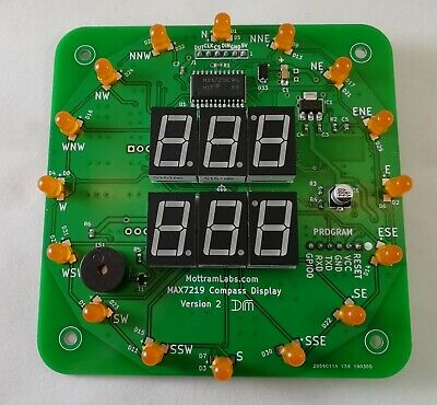 LED Display - MAX7219 - Arduino - ESP8266 - Wemos - Wind Speed and Direction