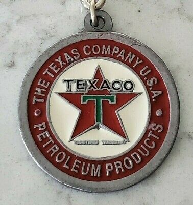 Texaco Petroleum Products -  Key Chain