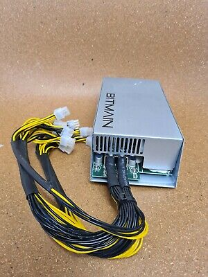 Antminer PSU APW3++ 1600w power supply for ETH BTC miner S9 S7 L3+ D3