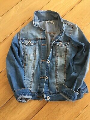 Zara Girls Age 10 Denim Jacket