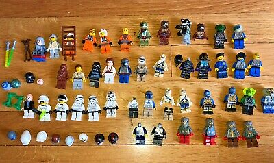 40+ Lego Minifigures MINIFIGS Lot Star Wars Alien Insectiod more