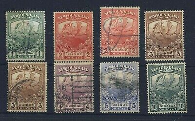 8x Newfoundland Trail of Caribou Stamps1c-2x2c-2x3c-4c-5c-10c Guide Value=$37.00