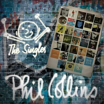 """Phil Collins """" The Singles The Best Of """" Double Cd Brand New & Sealed"""