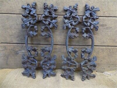 Salvage Acorn Fence Panels, New Orleans Architectural Salvage, Vintage Cast Iron