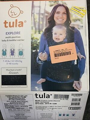 Tula Explore Multi Position Baby Carrier 7-45Lbs. 0-48 Months, Free Shipping