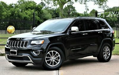 2015 Jeep Grand Cherokee Limited Great Value  Low Miles  25 MPG 2015 Jeep Grand Cherokee Limited  60,823 Miles Black  3.6L V6 290hp 260ft. lbs.