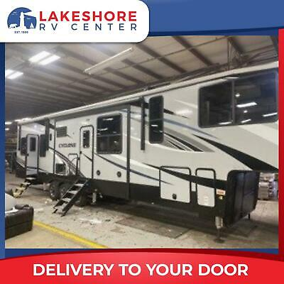 Heartland Cyclone 4006 Fifth Wheel Toy Hauler Camper RV - Limited Availability