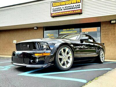 2005 Ford Mustang  2005 Ford Mustang  Black Convertible 4.6 Liter V8 5 Speed Manual