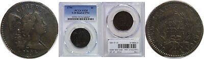 1794 Large Cent PCGS VF-25 S-30 Head of 1794