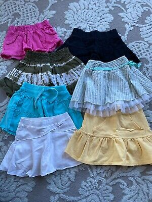 Girls Size 4 Skirts Pick One Summer Play Comfy Ruffled Pleated