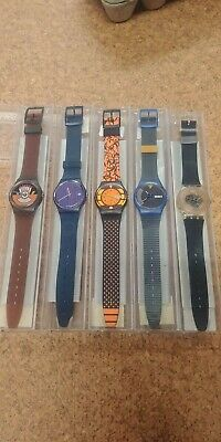 Swatch - collection of 5