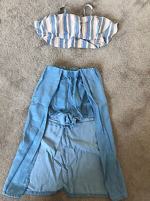 Girls River Island Top And Bottom Set Age 8