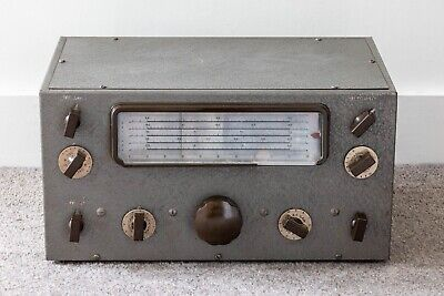 NATIONAL NC-81X ham band 10-valve receiver from 1937 - works but needs attention