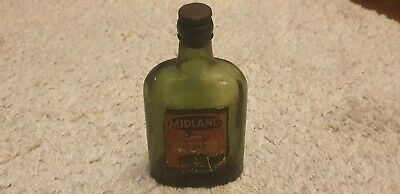 Nice Vintage Midland Cycle Oil Bottle With Cap