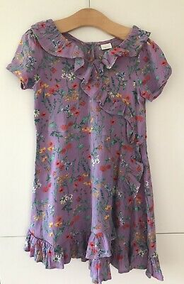 Girls Floral Dress From Next Age 7 Years
