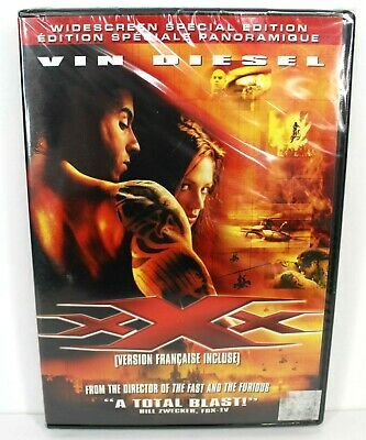 XXX Vin Diesel Widescreen Special Edition 2002 New Factory Sealed DVD Bilingual
