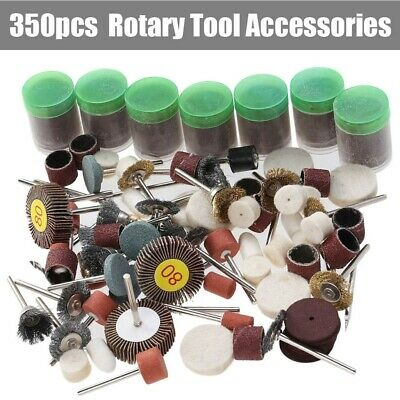 Rotary Tool Accessory Wood Metal Grinding Polishing Cutting Bit Kit for Dremel