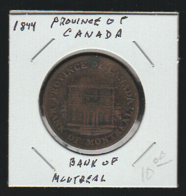 Province of Canada, 1844 Half Penny